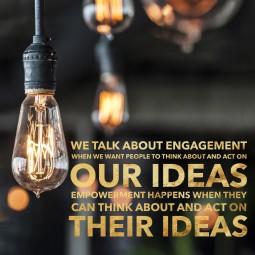 Our Ideas - Their ideas