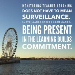 Be present in the learning