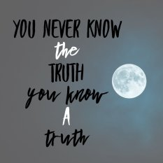 Knowing a truth